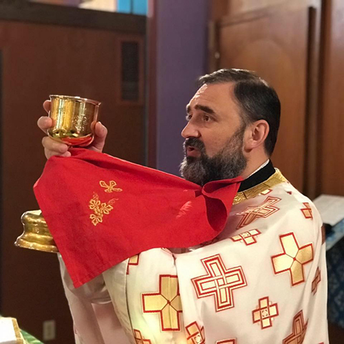 V. Rev. Radovan Jakovljevic, Director
