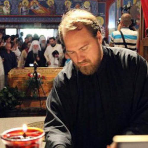 Rev. Nikolaj Kostur, Bishop's Secretary